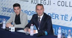Daut Haradinaj held a lecture and discussion with the students of the ISPE College